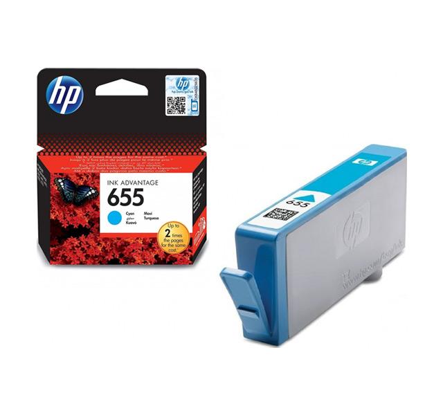Hp 655 ink Cartridge Cyan