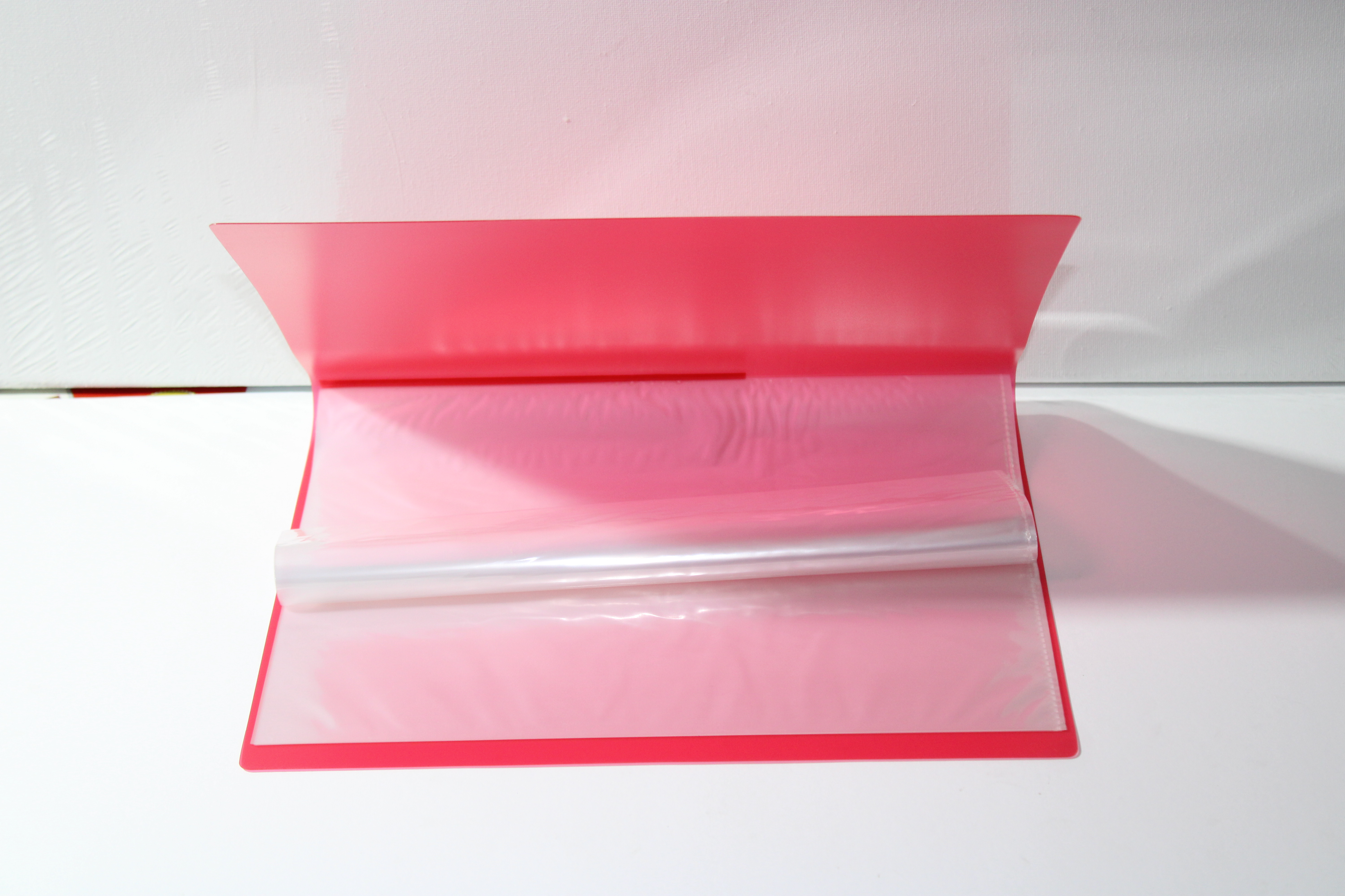 FOS DISPLAY BOOK 40PKT RED COLOUR