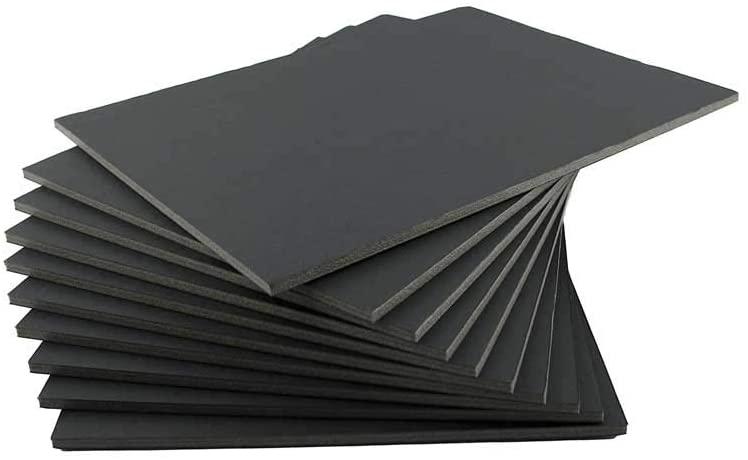 FOS FOAM BOARD 50X70 BLACK COLOUR