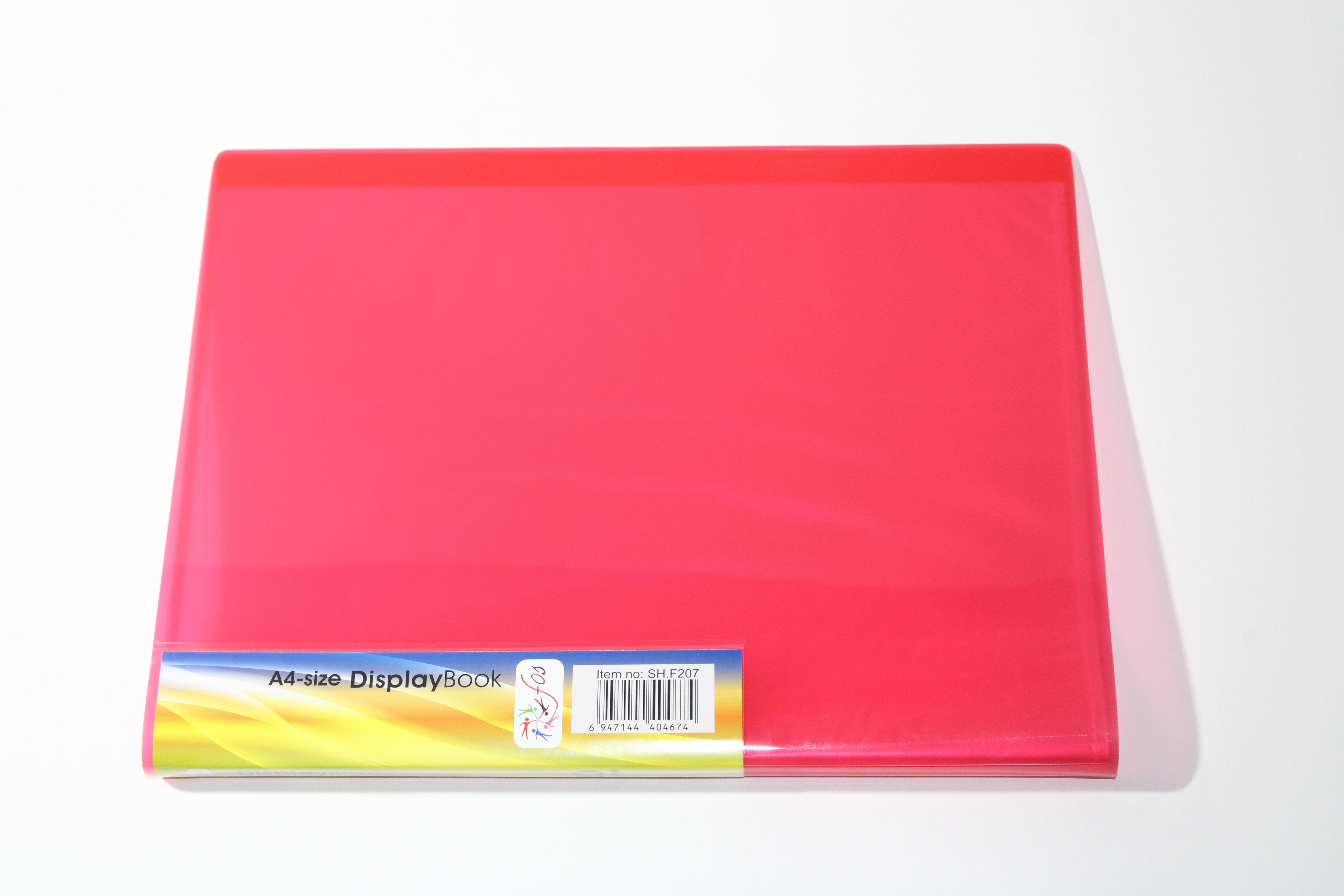 FOS DISPLAY BOOK 20PKT RED COLOUR