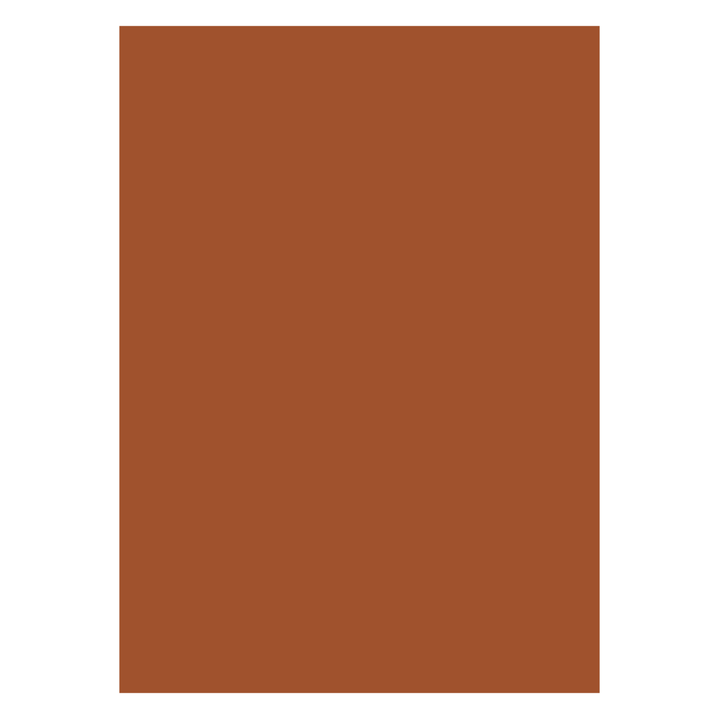 COLOR CHART 70X100 220GSM FOS BROWN COLOUR