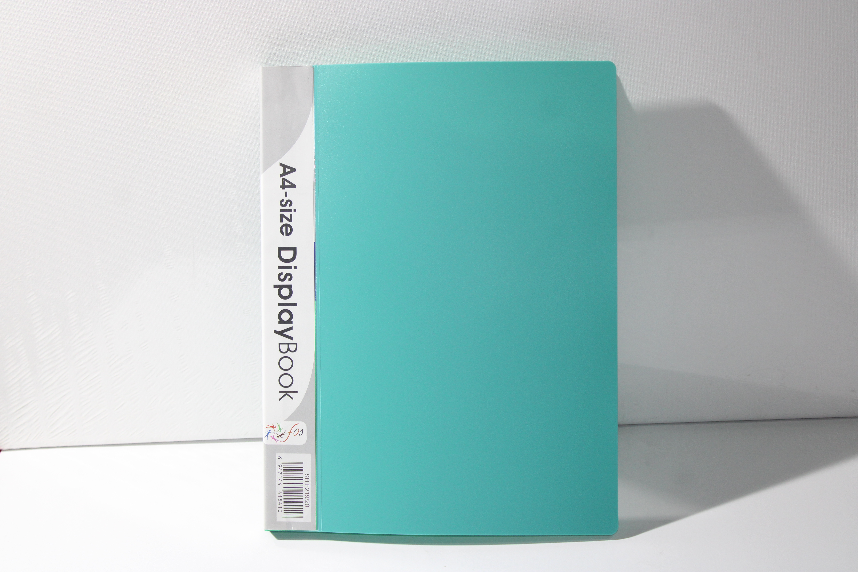 FOS DISPLAY BOOK 20PKT LIGHT GREEN COLOUR