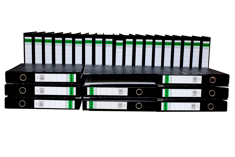 Alba Rado Box File Broad 8cm(10pcs)