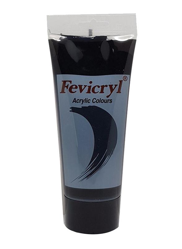 Fevicryl Acrylic Colour Black 200ml Tube