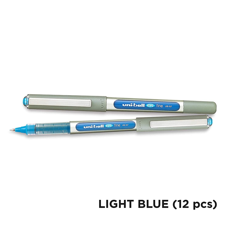 Uni Ball Eye Fine  Light Blue 0.7 12pcs/box