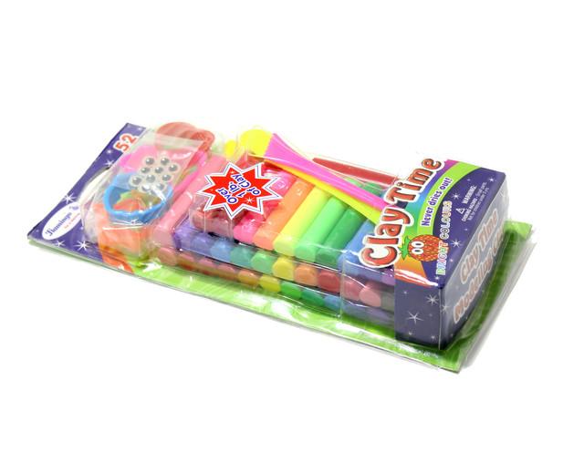 Hamingo Plastic toys and Colorful Clay Set 52 Colour