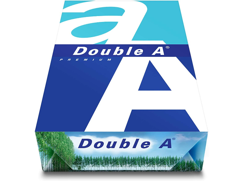 A4 Double A - Printer Copy Paper, GSM 80, 500 Pages 1 Reem