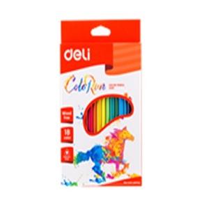 DELI Color Pencil in 18 Colors